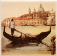 Плитка Атем PARMA Boat (GOROD Lodka) B декор 10x10