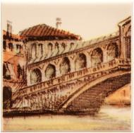 Плитка Атем PARMA City Bridge (GOROD Most) 1 B декор 10x10