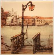 Плитка Атем PARMA Pier (GOROD Prichal) B декор 10x10