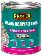 Эмаль Protex полиуретановая быстросохнущая 3в1 Luxe темно-зеленый шелковистый глянец 0,8кг
