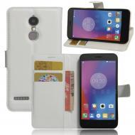 Чехол-книжка Litchie Wallet для Lenovo K6 White (lwwh0105)