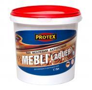 Лак акриловий Mebli Laquer Protex глянець 3 л