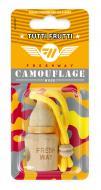 Ароматизатор підвісний FRESHWAY Camouflage Wood Tutti Frutti (Тутті Фрутті)