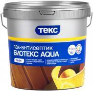 Лак-антисептик ТЕКС Биотекс Aqua шелковистый мат бесцветный 2,7 л
