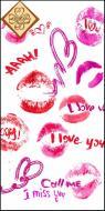 Серветки столові Luxy MINI Відверті поцілунки 33х33 см 10 шт.