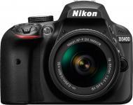 Фотоапарат Nikon D3400 AF-P 18-55mm f/3.5-5.6G VR Kit black