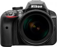 Фотоапарат Nikon D3400 AF-P 18-105mm f/3.5-5.6G VR Kit black