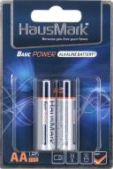 Батарейка HausMark Basic Power AA 2 шт. (MST-AL2АА)