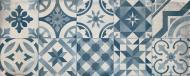 Плитка Cifre Монтбланк блу декор 20x50