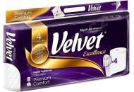 Туалетний папір Velvet Excellence Premium Comfort чотиришаровий 8 шт.