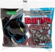 Принада для мишей та щурів Аптека Садівника Багіра брикет 100 г