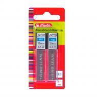 Набір грифелів для механічний олівців НВ 0,5 мм 24 шт. чорний 8675217 Herlitz