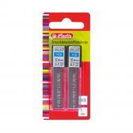 Набір грифелів для механічний олівців НВ 0,7 мм 24 шт. чорний 10199156 Herlitz