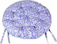 Подушка на стілець Фреска Лаванда d 40 см Прованс Классик