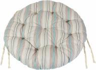 Подушка на стілець Фреска Тіффані d 40 см Прованс Классик