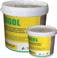 Клей для паркету поліуретановий 2х компомпонентний SIGOL R.E 9 кг + отверджувач 1кг