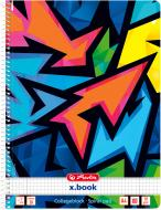 Блокнот Neon ArtА4 80 арк. 50027880 Herlitz