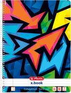 Блокнот Neon Art А4 80 арк. 50027903 Herlitz