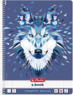Блокнот Wild Animals Вовк А4 80 арк. 50027774 Herlitz