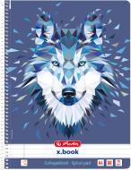 Блокнот Wild Animals Вовк А4 80 арк. 50027811 Herlitz