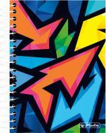 Блокнот Neon Art 10x14 см 200 арк. 50027927 Herlitz