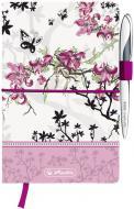 Книга для нотаток Ladylike Bloom А5 96 арк. 11370954 Herlitz
