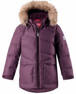 Куртка детская для девочки Reima Jussi р.146 темно-бордовый 531349-4960
