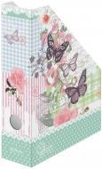 Лоток для паперів картонний складаний вертикальний Ladylike Butterfly 11225141 Herlitz