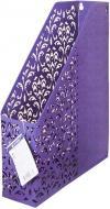 Лоток для паперів вертикальний Barocco 320х250х75 мм фіолетовий Buromax