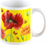 Чашка Маки 330 мл 21-206-126 Оселя