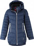 Куртка-пуховик для девочки Reima Juuri р.146 темно-синий 531370-6980