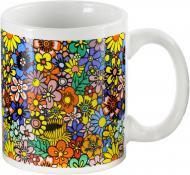 Чашка Цветочная поляна 330 мл Оселя