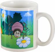 Чашка Пчелка фарфор 330 мл Оселя