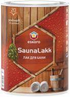 Лак для лазні Saunalakk Eskaro напівмат 0,95 л
