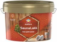 Лак для лазні Saunalakk Eskaro напівмат 2,4 л