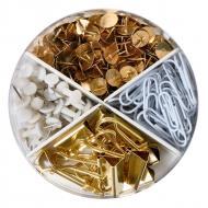 Набір кнопок, скріпок і біндерів Pure Glam 310 шт. 50021833 Herlitz