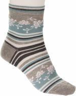 Шкарпетки Conte COMFORT 038 меланж р. 23 бірюзовий