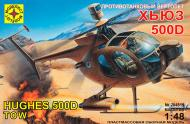 Збірна модель Modelist протитанковий вертоліт Х'юз 500D 1:48 204819