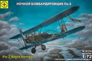 Збірна модель МОДЕЛІСТ нічний бомбардувальник По-2 1:72 207219