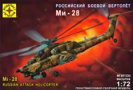 Збірна модель Modelist російський бойовий вертоліт Мі-28 1:72 207224