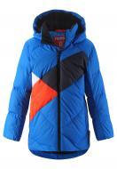 Куртка-пуховик для мальчика Reima Ahmo р.146 синий 531423-6500