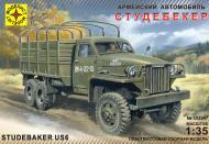 Збірна модель Modelist армійський автомобіль Студебекер 1:35 303547