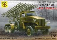Збірна модель Modelist бойова машина БМ-13-16Н Катюша 1:35 303548