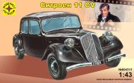 Збірна модель Modelist автомобіль Сітроен 11 CV 1:43 604315