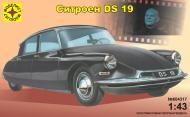 Збірна модель Modelist автомобіль Сітроен DS 19 1:43 604317