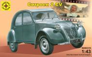 Збірна модель Modelist автомобіль Сітроен 2 CV 1:43 604318