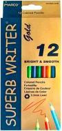 Олівці кольорові Superb Writer Gold E4100G-12CB Marco