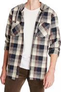 Рубашка Mavi HOODED SHIRT 021365-30211 р. L разноцветный
