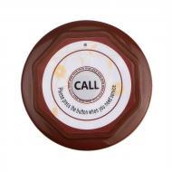 Кнопка вызова официанта или персонала беспроводная Retekess F3360 Коричневая
