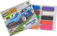 Пластилін восковий 10 кольорів (х) YES
